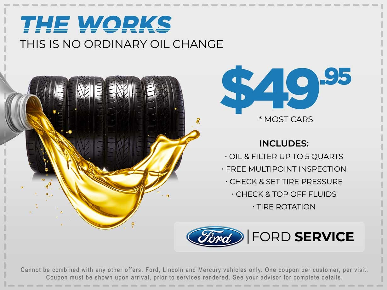 The Works Special Elder Ford Of Tampa Specials Tampa Fl